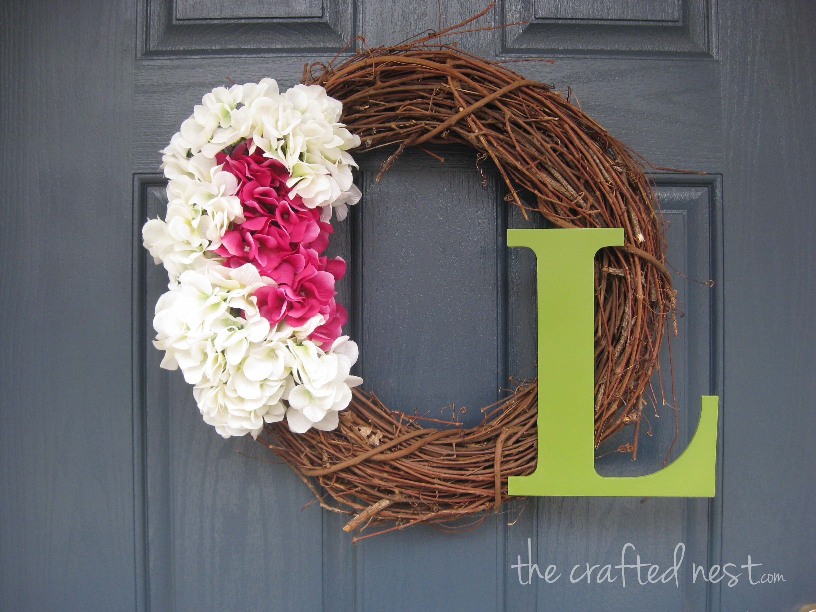 Welcome home the crafted nest front door wreath 03 copy rubansaba